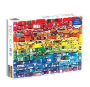 Galison Galison Rainbow Toy Cars Puzzle 1000pcs