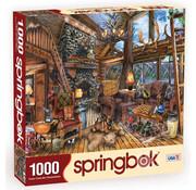 Springbok Springbok The Hunting Lodge Puzzle 1000pcs