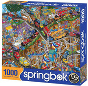 Springbok Springbok Getting Away Puzzle 1000pcs