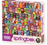 Springbok Springbok Retro Refreshments Puzzle 1000pcs