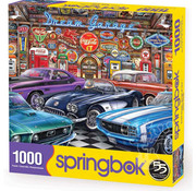 Springbok Springbok Dream Garage Puzzle 1000pcs