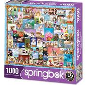 Springbok Springbok Animal Quackers Puzzle 1000pcs