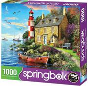 Springbok Springbok Cottage Lighthouse Puzzle 1000pcs