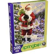 Springbok Springbok Santa's Village Puzzle 500pcs
