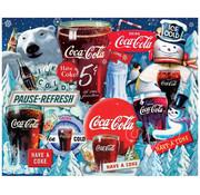 Springbok Springbok Coca-Cola Ice Cold Holidays Puzzle 1000pcs