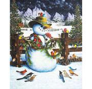Springbok Springbok Western Snowman Puzzle 1000pcs