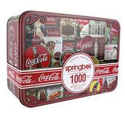 Springbok Springbok Coca-Cola Signs Puzzle 1000pcs in a Special Edition Tin