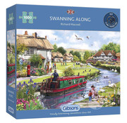 Gibsons Gibsons Swanning Along Puzzle 1000pcs