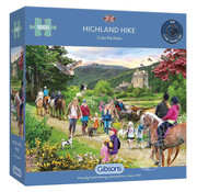 Gibsons Gibsons Highland Hike Puzzle 1000pcs