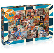 Gibsons Gibsons Spirit of the 50s Puzzle 1000pcs