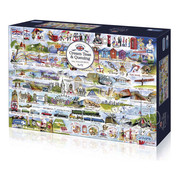 Gibsons Gibsons Cream Teas & Queuing Puzzle 1000pcs
