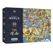 Gibsons Gibsons Wonderful World Puzzle 2000pcs