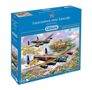Gibsons Gibsons Lancasters Over Lincoln Puzzle 500pcs