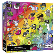 Gibsons Gibsons Punimals Puzzle 500pcs