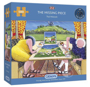Gibsons Gibsons The Missing Piece Puzzle 500pcs