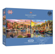 Gibsons Gibsons Sails at Sunset Puzzle 2 x 500pcs