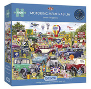Gibsons Gibsons Motoring Memorabilia Puzzle 1000pcs