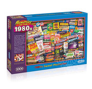 Gibsons Gibsons 1980S Sweet Memories Puzzle 1000pcs
