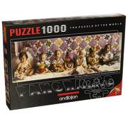 Anatolian Anatolian All in a Row Panoramic Puzzle 1000pcs