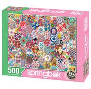 Springbok Springbok Crazy Quilts Puzzle 500pcs