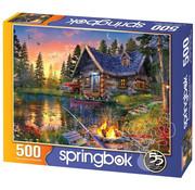 Springbok Springbok Sun Kissed Cabin Puzzle 500pcs