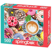 Springbok Springbok Donuts n' Coffee Puzzle 500pcs