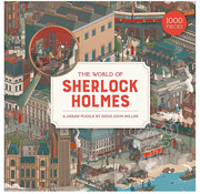 Laurence King Publishing Laurence King The World of Sherlock Holmes Puzzle 1000pcs