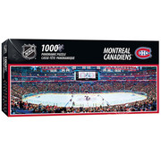 MasterPieces MasterPieces NHL Montreal Canadiens Panoramic Puzzle 1000pcs