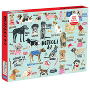 Mudpuppy Mudpuppy Hot Dogs A-Z Puzzle 1000pcs