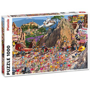 Piatnik Piatnik Bicycle Race Puzzle 1000pcs