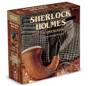 University Games BePuzzled Classics Sherlock Holmes and the Speckled Band Mystery Puzzle 1000pcs
