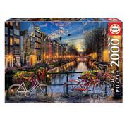 Educa Borras Educa Amsterdam with Love Puzzle 2000pcs