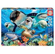 Educa Borras Educa Underwater Selfies Puzzle 500pcs