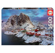 Educa Borras Educa Lofoten Islands, Norway Puzzle 1500pcs