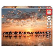 Educa Borras Educa Golden Sunset on Cable Beach, Australia Puzzle 1000pcs