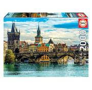 Educa Borras Educa View of Prague Puzzle 2000pcs