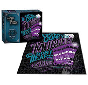 USAopoly USAopoly Harry Potter The Knight Bus Puzzle 200pcs