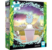 """USAopoly USAopoly Rick and Morty """"Shy Pooper"""" Puzzle 1000pcs"""