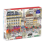 Galison Galison Paris Puzzle 1000pcs