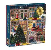 Galison Galison Winter Lights Foil Puzzle 500pcs