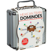 Mexican Train Double 12 Colored Dominoes