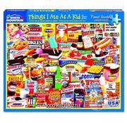 White Mountain White Mountain Things I Ate As A Kid Puzzle 1000pcs