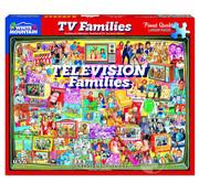 White Mountain White Mountain TV Families Puzzle 1000pcs