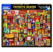 White Mountain White Mountain Favorite Brands Puzzle 1000pcs