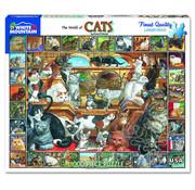 White Mountain White Mountain World of Cats Puzzle 1000pcs
