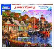 White Mountain White Mountain Harbor Evening Puzzle 1000pcs