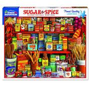 White Mountain White Mountain Sugar & Spice Puzzle 1000pcs
