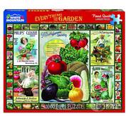 White Mountain White Mountain Everything for the Garden Puzzle 1000pcs