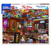 White Mountain White Mountain Toy Shop Seek & Find Puzzle 1000pcs