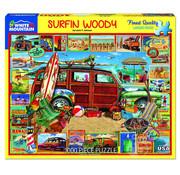 White Mountain White Mountain Surfin' Woodie Puzzle 1000pcs